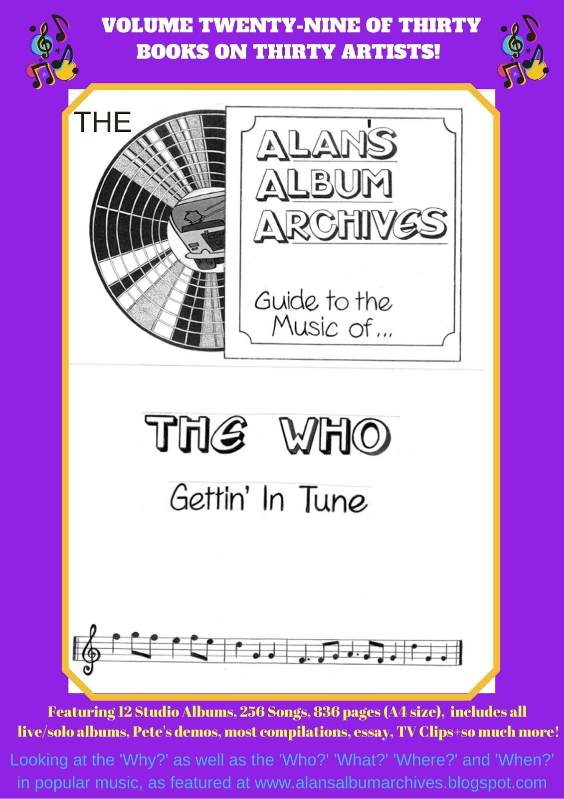 'Gettin' In Tune - The Alan's Album Archives Guide To The Music Of...The Who'