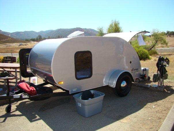 Tear drop camper