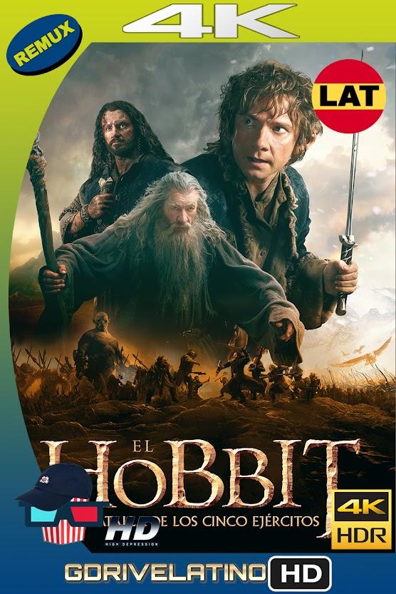 El Hobbit : La Batalla de los 5 Ejercitos (2014) EXTENDED EDITION BDRemux 4K HDR Latino-Ingles MKV