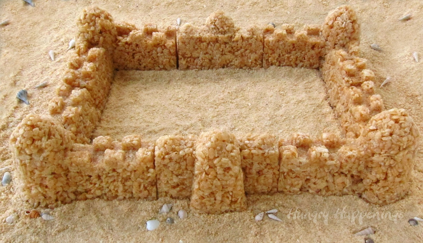 How To Make Rice Crispy Molds For Cakes