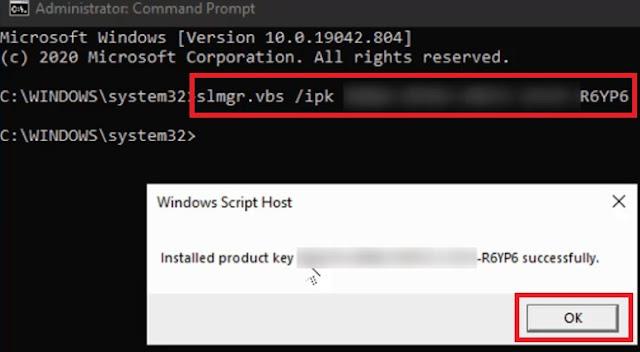 نقل ترخيص Windows 10 إلى كمبيوتر جديد