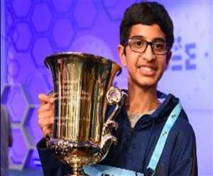 Indian American Boy Wins National Spelling Bee Title