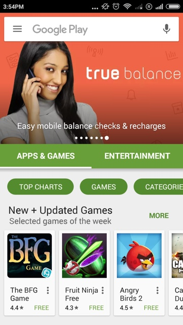 2. Google Play Featured