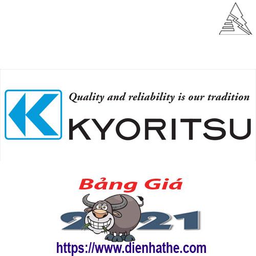 Bảng Giá Thiết Bị Điện Kyoritsu 2021
