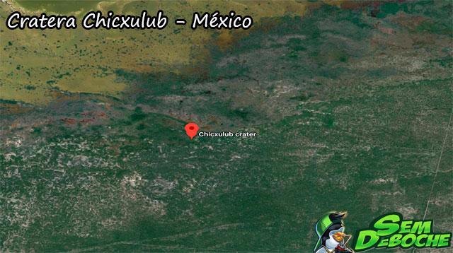 Cratera Chicxulub - México