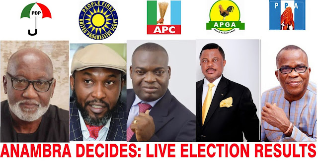Anambra election: How candidates fared (Final score)
