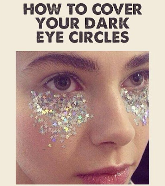 HOW TO COVER YOUR DARK CIRCLES