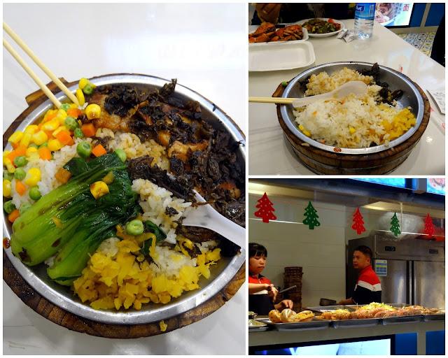 My first night's dinner in Xiamen