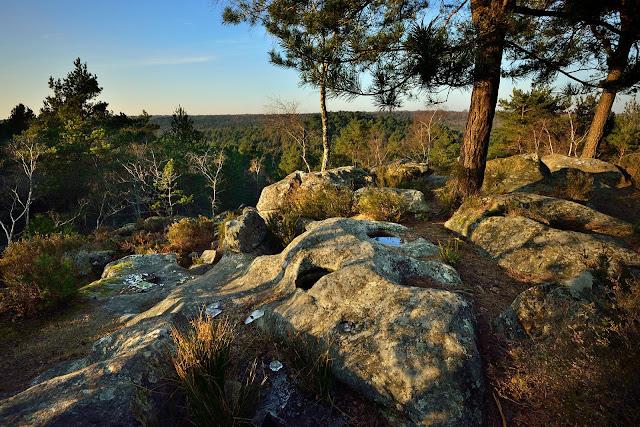 Point de vue de la Bombarde, forêt de Fontainebleau