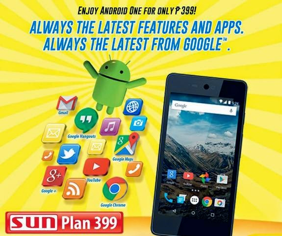 Cherry Mobile One Now Available At Sun Plan 399