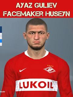 PES 2017 Faces Ayaz Guliyev by Huseyn