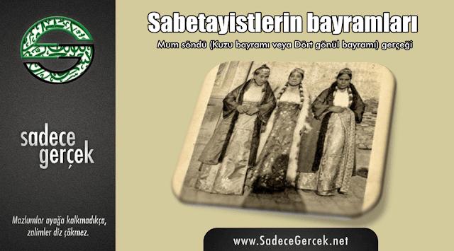 Sabetayistlerin bayramları