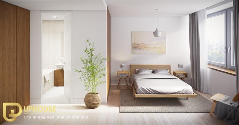 Phòng ngủ tối giản đẹp 06