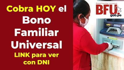 Bono Familiar Universal, consulta: LINK para ver con DNI si eres beneficiario y cobrar HOY