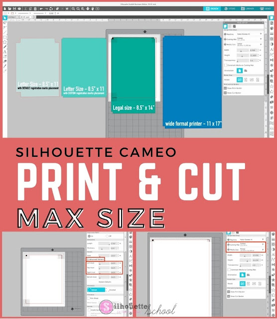 silhouette 101, silhouette america blog, print and cut, silhouette print and cut, stickers, printable materials