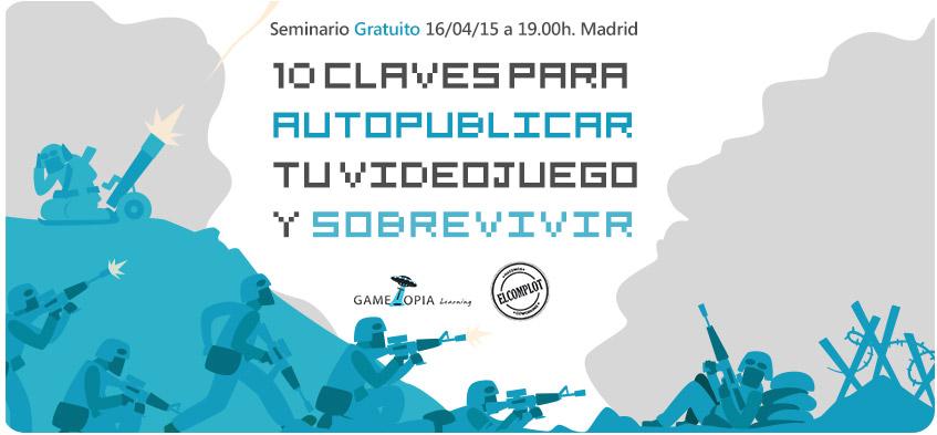 Seminario gratuito de videojuego en Madrid