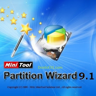MiniTool Partition Wizard 9.1
