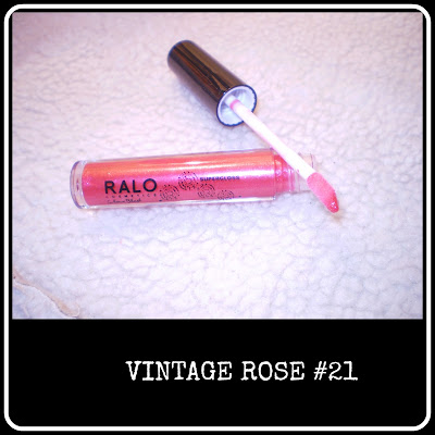 Vintage Rose lipgloss