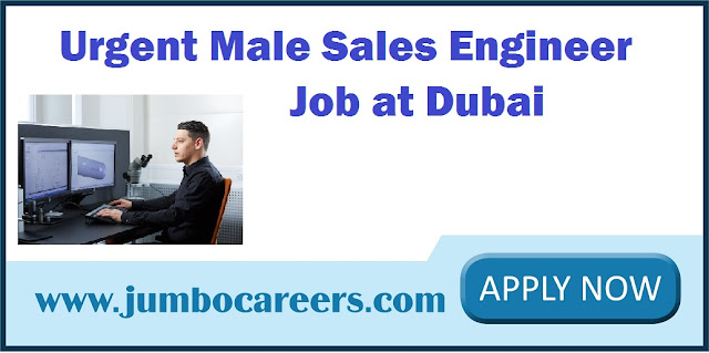 Sales Engineer Job at Dubai