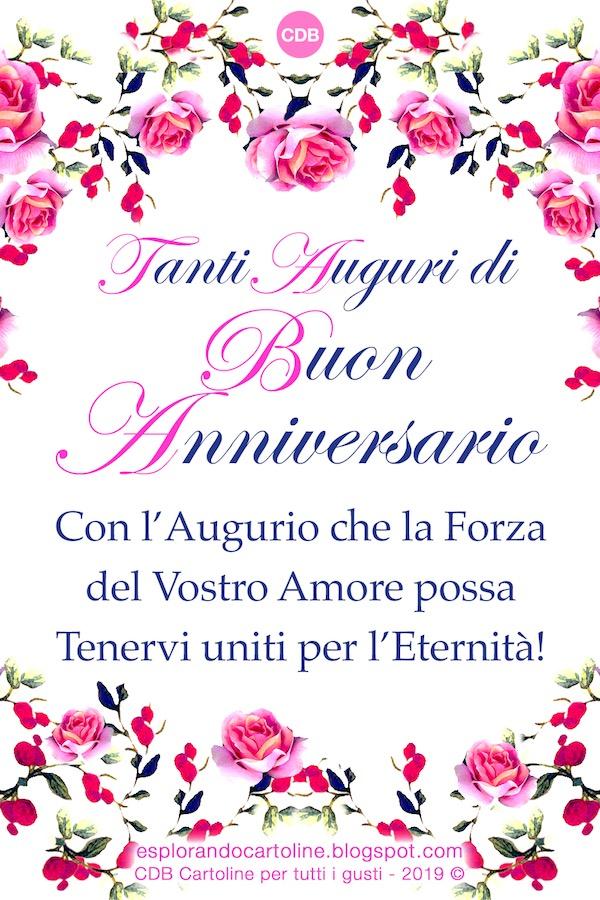 Auguri Per Il Vostro Anniversario Di Matrimonio.Cdb Cartoline Per Tutti I Gusti Tanti Auguri Di Buon