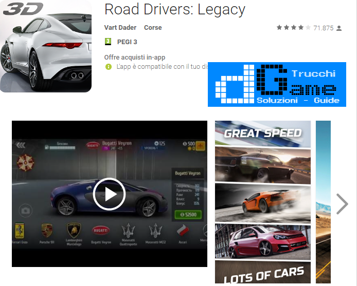 Trucchi Road Drivers: Legacy Mod Apk Android v3.10
