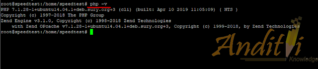 Cara upgrade PHP 5 ke PHP 7 di linux ubuntu-anditii.web.id