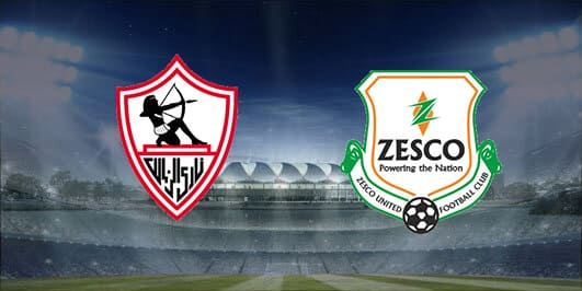 مباراة الزمالك وزيسكو يونايتد بتاريخ 10-01-2020 دوري أبطال أفريقيا
