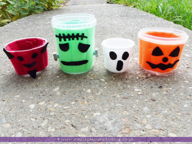 Wool Woven Candy Pots | The Purple Pumpkin Blog