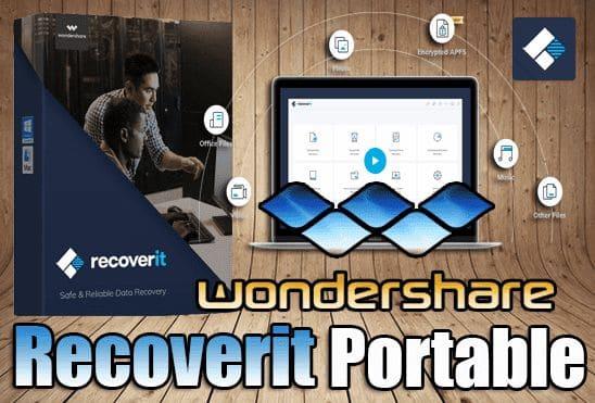تحميل برنامج Wondershare Recoverit Ultimate Portable اخر اصدار نسخة محمولة مفعلة