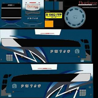 Download Livery Bus PMTOH baru