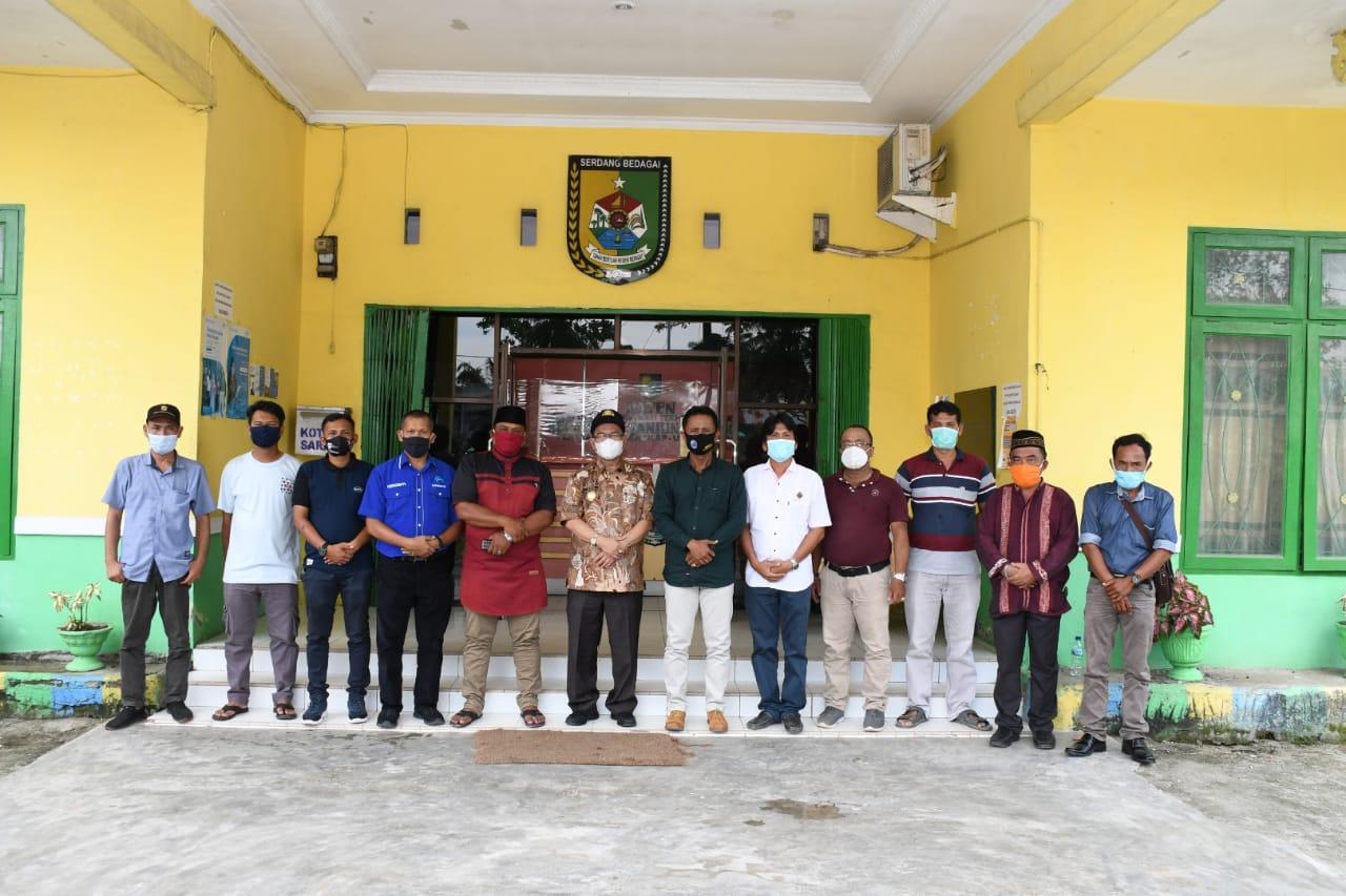 Kunjungi Kantor Camat Tanjung Beringin, Pjs Bupati Sergai Minta Masyarakat Sukseskan Pilkada 2020
