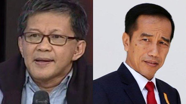 Rocky Gerung Sebut Pembebasan Baasyir Termasuk Deretan Hoax Pemerintahan Jokowi