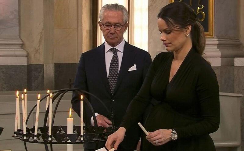 Crown Princess Victoria, Prince Daniel, Princess Estelle and Prince Oscar. Princess Sofia, Princess Christina, Prince Carl Philip and Queen Silvia