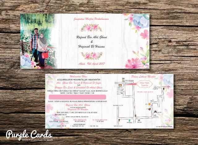 kad kahwin murah, photo print, watercolour, wedding card, kuala lumpur, selangor, perak, ipoh, bentong, kuantan, sampul, envelope, pearl, art card, cantik, unik, unique, sabah, sarawak, kuching, kota kinabalu, singapura, singapore, johor bahru, online order, express