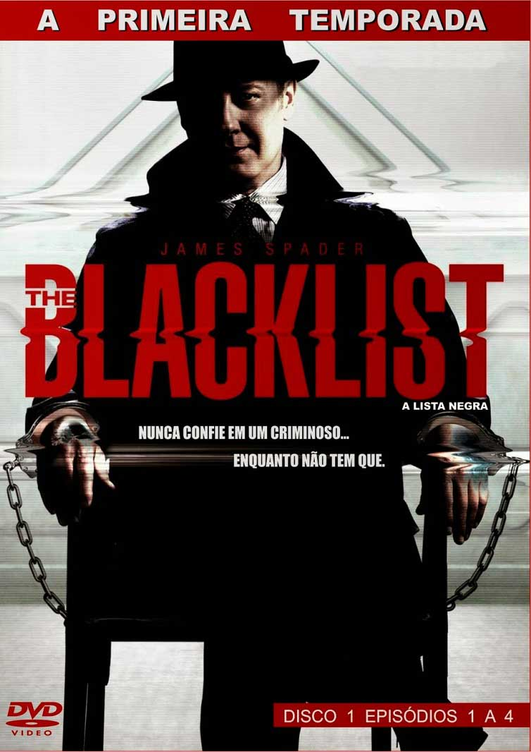 The Blacklist 1ª Temporada Torrent - BluRay 720p Dual Áudio