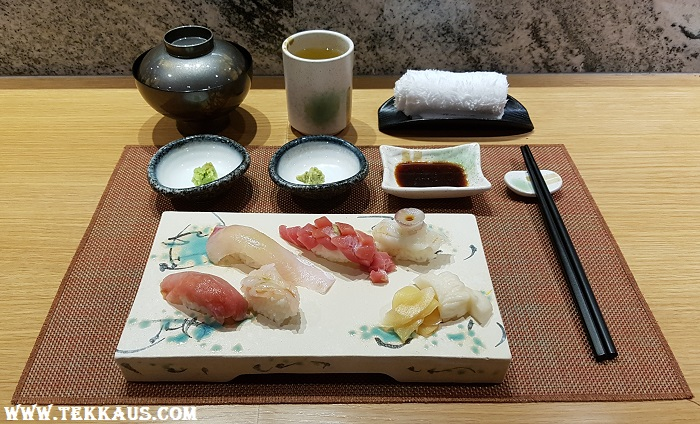 Miyabi Sheraton PJ-Omakase Nigiri Sushi Review