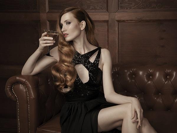 mujer elegante