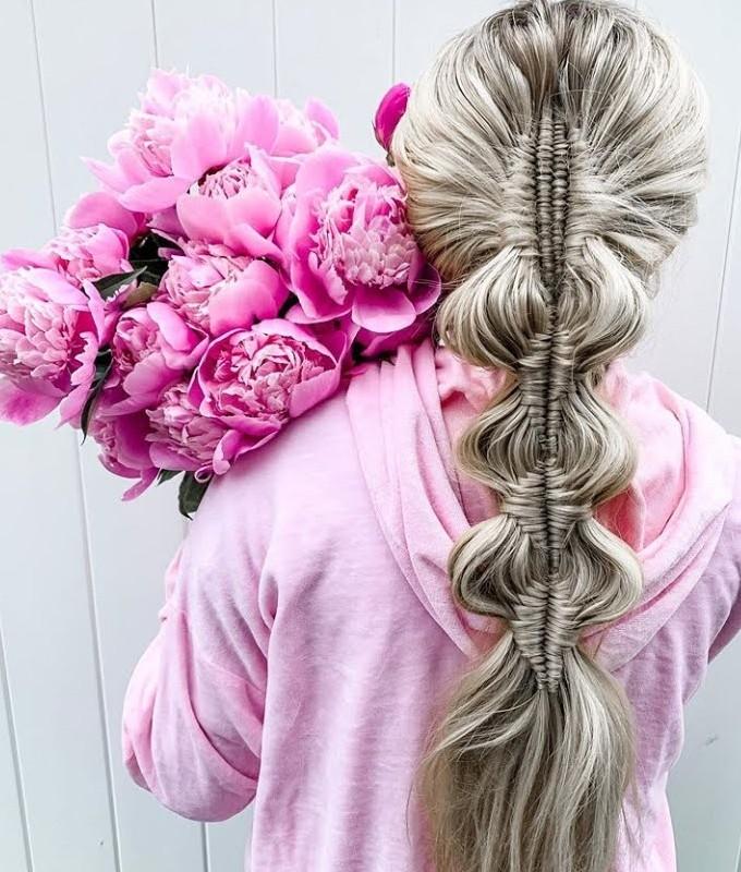 peinados con accesorios 2020 pelo