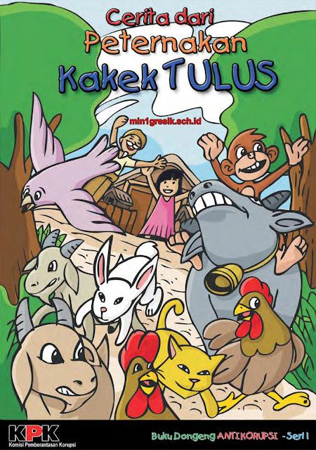 buku dongeng anti korupsi