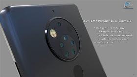 Nokia 10 rear camera