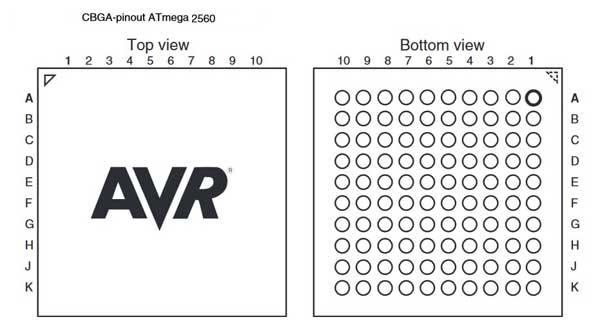 Download Arduino ATmega2560 Datasheet (PDF)
