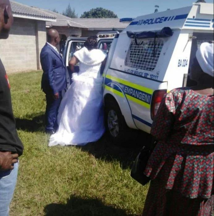 Arrestan a dos recién casados en plena boda por no hacer caso a la cuarentena