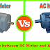Difference between DC Motor and AC Motor