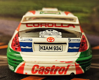 Toyota Corolla WRC Scalextric Costa Brava