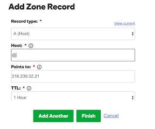 Add IP address GoDaddy