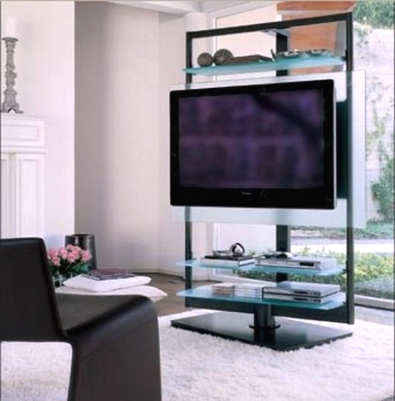 Porada S Work Is A Luxury Free Standing Tv Cabinet Designed By T Colzani