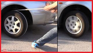 Tips menyalakan mobil mogok tanpa dorong Tips Menyalakan Mobil Mogok Dengan Memutar Ban Belakang