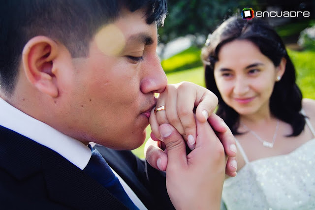 sesion fotos romantico novios
