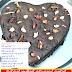 එග්ලස් කුකින් චොකෝ කේක් එකක් හදමු (Eggless Cooking Chocolate Cake With Cherries And Cashew Nuts)