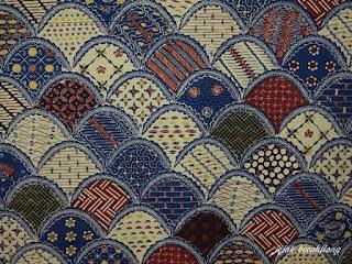Batik Garut Motif  Bulu Hayam